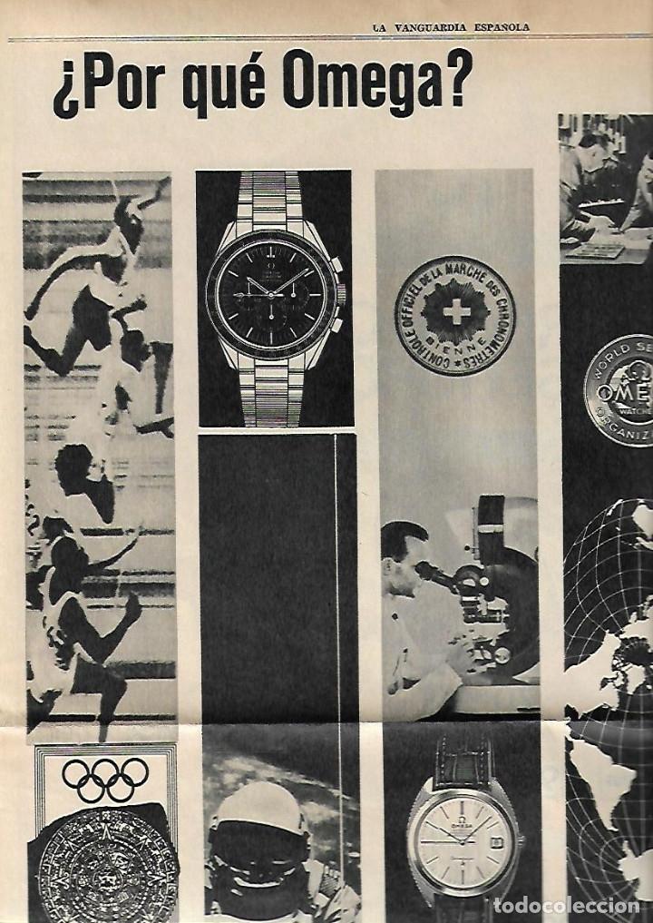 Coleccionismo Periódico La Vanguardia: AÑO 1967 EL HOY DE BARCELONA Y EL MAÑANA METRO PUBLICIDAD FLOID YOGUR RAM RELOJ OMEGA ZARZUELA RIBAS - Foto 5 - 10686902