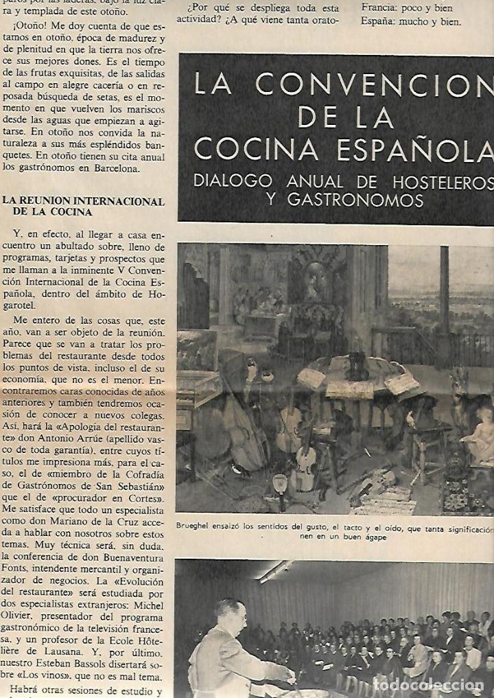Coleccionismo Periódico La Vanguardia: 1968 HOGARHOTEL HOSTELERIA COCINA VINO SITJES PUBLICIDAD FREIXENET FERNET BRANCA JOHNNIE WALKER - Foto 4 - 10687348