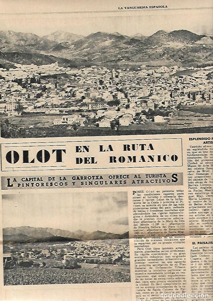 Coleccionismo Periódico La Vanguardia: AÑO 1965 ELS COLLEGATS OLOT FIGUERAS MONTSENY CERDANYA AMPOSTA PENISCOLA TURISMO DELTA EBRE - Foto 6 - 10713887