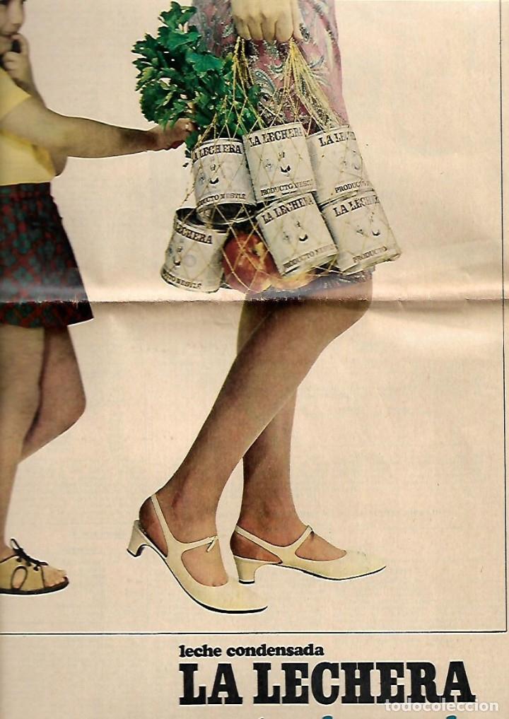 Coleccionismo Periódico La Vanguardia: 1966 BALEARES ECONOMIA TURISMO GENTES MENORCA CULTO AL DIOS TORO PUBLICIDAD LA LECHERA RELOJ OMEGA - Foto 4 - 10752907