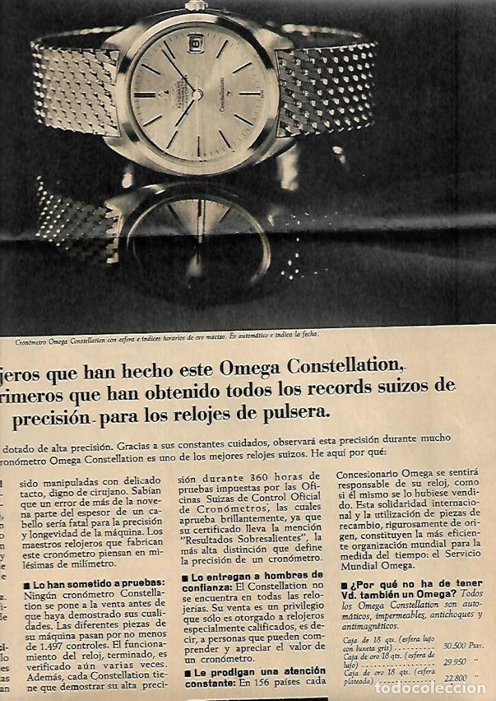 Coleccionismo Periódico La Vanguardia: 1966 BALEARES ECONOMIA TURISMO GENTES MENORCA CULTO AL DIOS TORO PUBLICIDAD LA LECHERA RELOJ OMEGA - Foto 5 - 10752907