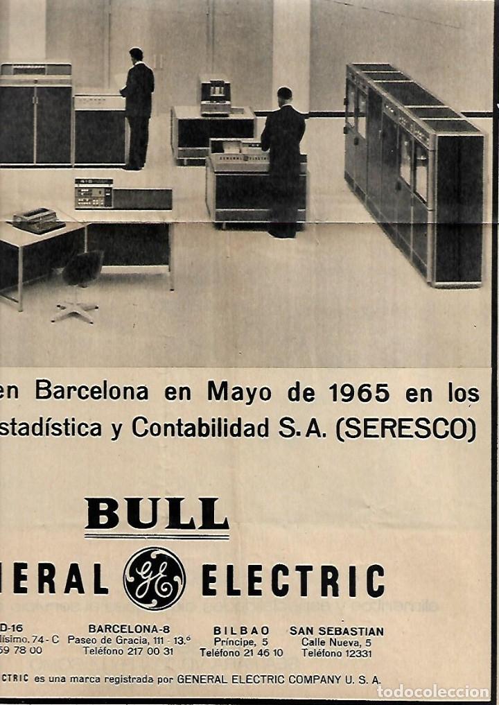 Coleccionismo Periódico La Vanguardia: AÑO 1965 FIESTA REYES BARCELONA JUGUETES PUBLICIDAD NESTLE ORDENADOR PARA SERESCO GENERAL ELECTRIC - Foto 3 - 10763026