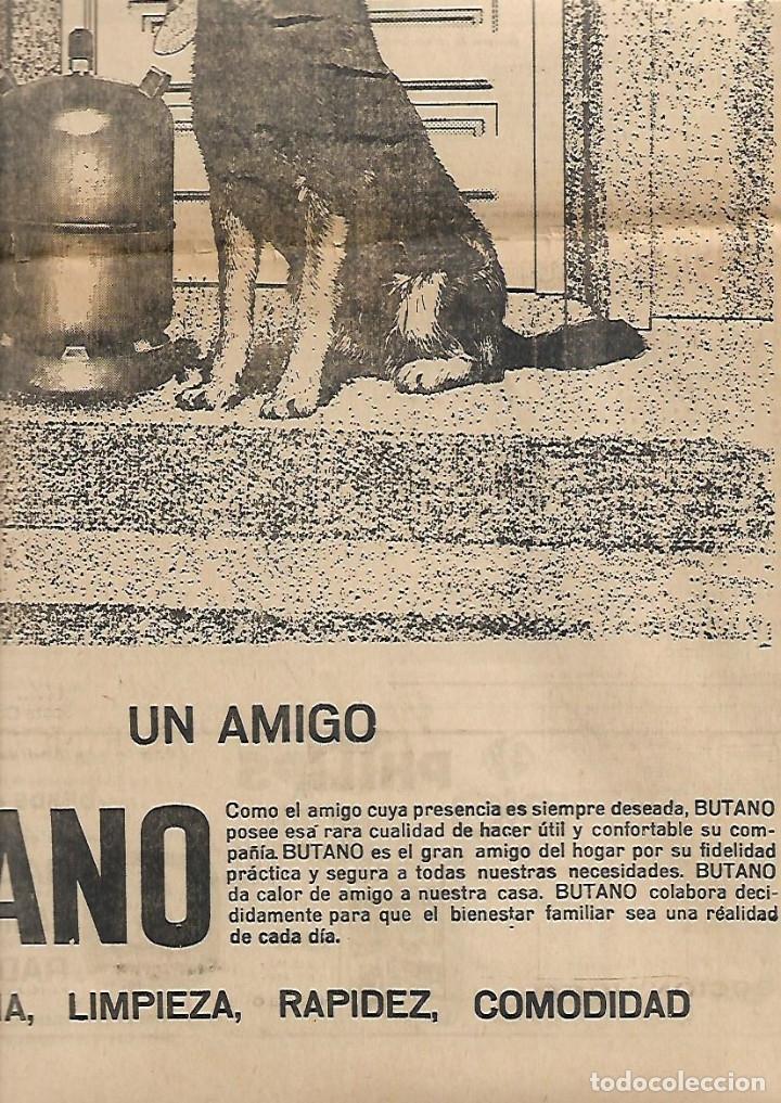 Coleccionismo Periódico La Vanguardia: .AÑO 1966 EL ESCORIAL LA SARDANA EN EL MUNDO PUBLICIDAD BUTANO ZANUSSI SALOU APARTAMENTOS ESTANYETS - Foto 3 - 10766731
