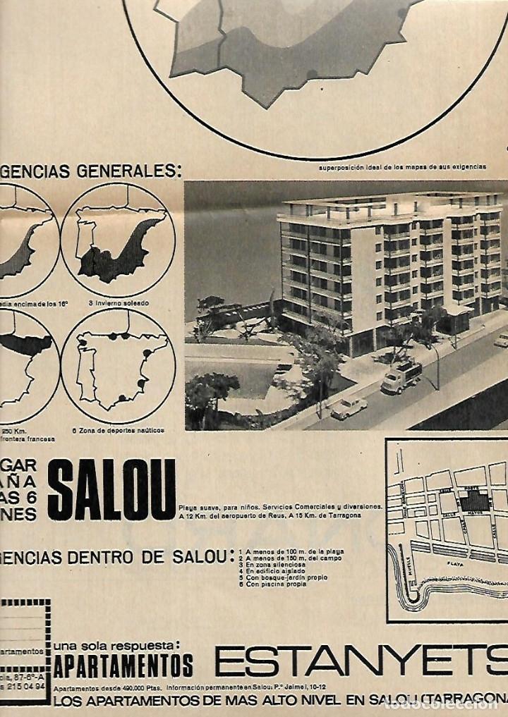 Coleccionismo Periódico La Vanguardia: .AÑO 1966 EL ESCORIAL LA SARDANA EN EL MUNDO PUBLICIDAD BUTANO ZANUSSI SALOU APARTAMENTOS ESTANYETS - Foto 4 - 10766731