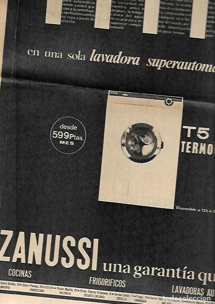 Coleccionismo Periódico La Vanguardia: .AÑO 1966 EL ESCORIAL LA SARDANA EN EL MUNDO PUBLICIDAD BUTANO ZANUSSI SALOU APARTAMENTOS ESTANYETS - Foto 5 - 10766731