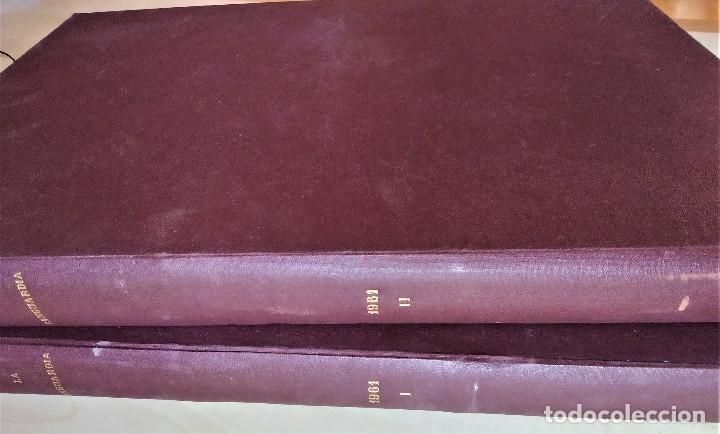 Coleccionismo Periódico La Vanguardia: Diario La Vanguardia 1961 encuadernado 2 tomos - Foto 4 - 183456025