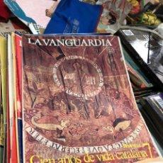 Coleccionismo Periódico La Vanguardia: CIEN AÑOS DE VIDA CATALANA + LA VIDA DEL MUNDO - 1881 1981 - 39 FASCICULOS - VER LAS FOTOS. Lote 183683893