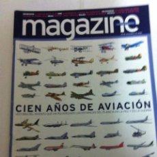 Coleccionismo Periódico La Vanguardia: A VANGUARDIA -MAGAZINE - 100 AÑOS AVIACIÓN- 2003. Lote 183816121