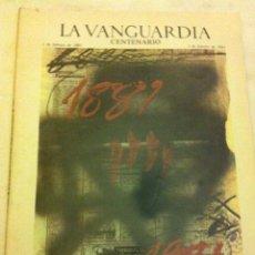 Coleccionismo Periódico La Vanguardia: LA VANGUARDIA - CENTENARIO - 1 FEBRERO 1981. Lote 183816230