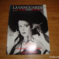 Coleccionismo Periódico La Vanguardia: REVISTA EL PERIODICO MUJER NOVIEMBRE 1989 PORTADA AITANA SANCHEZ GIJON. Lote 186083020
