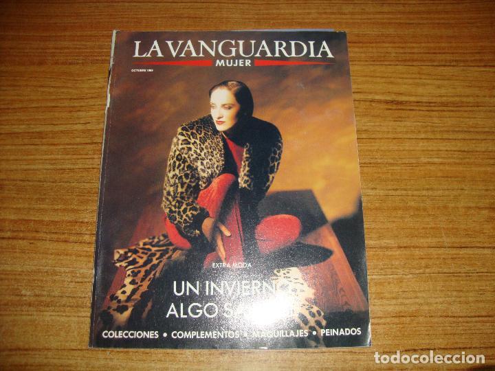 REVISTA EL PERIODICO MUJER OCTUBRE 1989 PORTADA MODELO (Coleccionismo - Revistas y Periódicos Modernos (a partir de 1.940) - Periódico La Vanguardia)