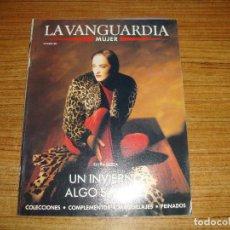 Coleccionismo Periódico La Vanguardia: REVISTA EL PERIODICO MUJER OCTUBRE 1989 PORTADA MODELO. Lote 186083112