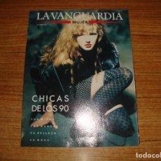 Coleccionismo Periódico La Vanguardia: REVISTA EL PERIODICO MUJER SEPTIEMBRE 1989 PORTADA MODELO. Lote 186083170
