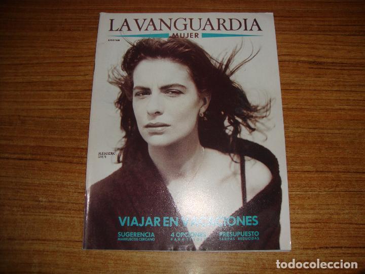 REVISTA EL PERIODICO MUJER JUNIO 1989 PORTADA ALEJANDRA GREPI (Coleccionismo - Revistas y Periódicos Modernos (a partir de 1.940) - Periódico La Vanguardia)