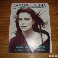 Coleccionismo Periódico La Vanguardia: REVISTA EL PERIODICO MUJER JUNIO 1989 PORTADA ALEJANDRA GREPI. Lote 186083238