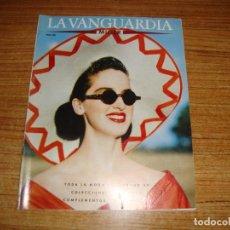 Coleccionismo Periódico La Vanguardia: REVISTA EL PERIODICO MUJER ABRIL 1989 PORTADA MODELO RINA KASTRAVELLI. Lote 186083351