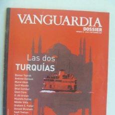 Coleccionismo Periódico La Vanguardia: VANGUARDIA , DOSSIER Nº 22 : LAS DOS TURQUIAS. 2009. Lote 186246233
