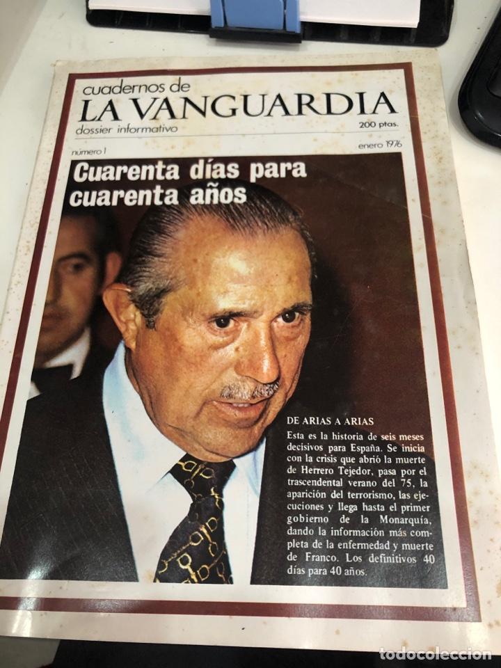 CUADERNOS DE LA VANGUARDIA (Coleccionismo - Revistas y Periódicos Modernos (a partir de 1.940) - Periódico La Vanguardia)