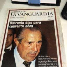 Coleccionismo Periódico La Vanguardia: CUADERNOS DE LA VANGUARDIA. Lote 187434068