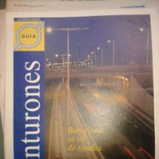 Coleccionismo Periódico La Vanguardia: BARCELONA LA VANGUARDIA ESPECIAL CINTURONES 1992. Lote 189464318