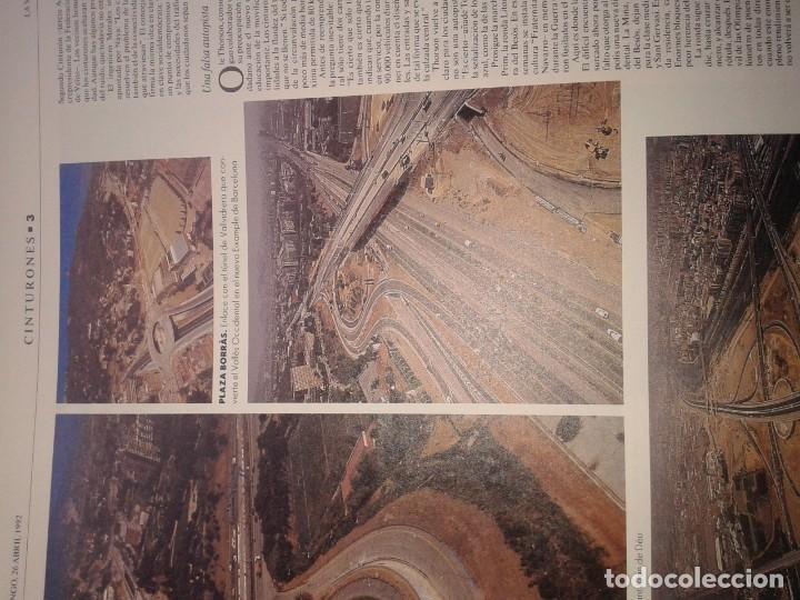 Coleccionismo Periódico La Vanguardia: BARCELONA LA VANGUARDIA ESPECIAL CINTURONES 1992 - Foto 2 - 189464318