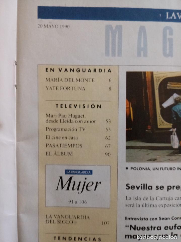 Coleccionismo Periódico La Vanguardia: REVISTA LA VANGUARDIA MAGAZINE - MAYO 1990 - SEVILLA ESCAPARATE DE LA EXPO - Foto 2 - 190752232