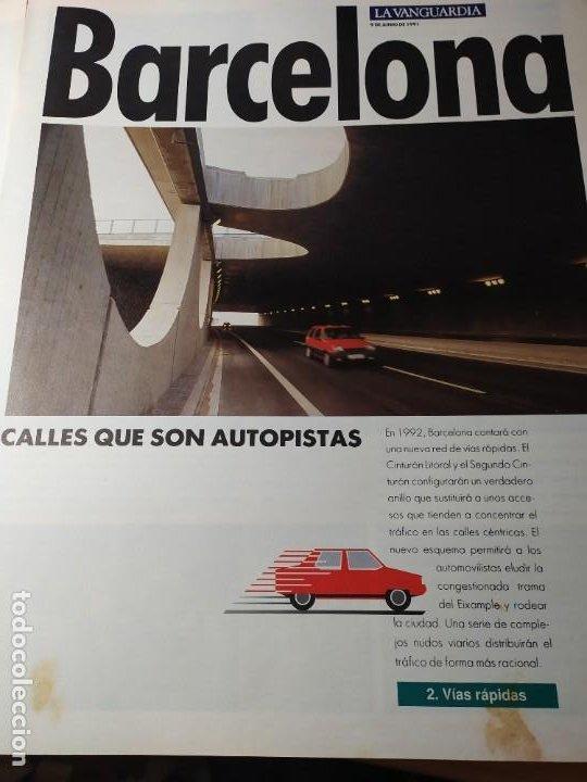 Coleccionismo Periódico La Vanguardia: LA BARCELONA DEL 92 - Imágenes de un cambio - Foto 3 - 190852607