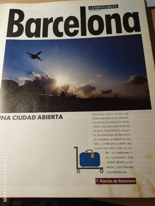 Coleccionismo Periódico La Vanguardia: LA BARCELONA DEL 92 - Imágenes de un cambio - Foto 4 - 190852607