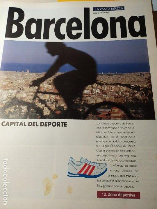 Coleccionismo Periódico La Vanguardia: LA BARCELONA DEL 92 - Imágenes de un cambio - Foto 5 - 190852607