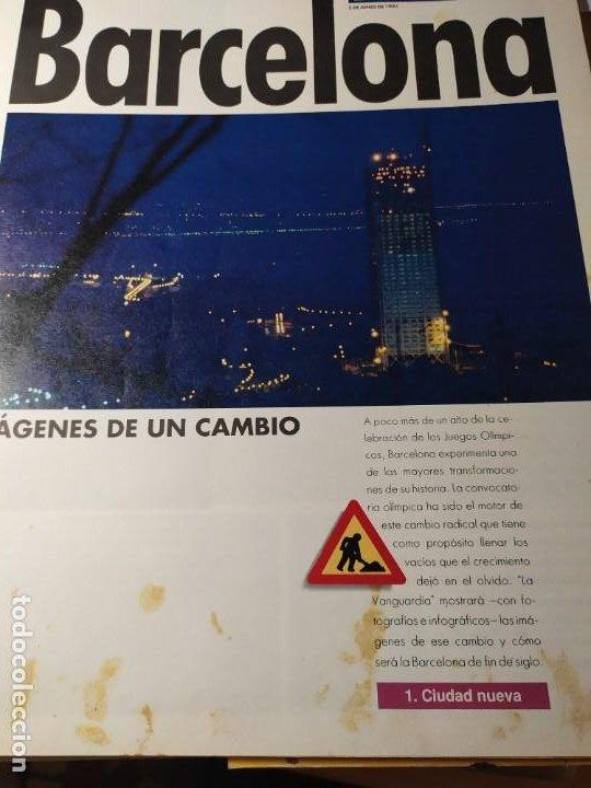 Coleccionismo Periódico La Vanguardia: LA BARCELONA DEL 92 - Imágenes de un cambio - Foto 7 - 190852607