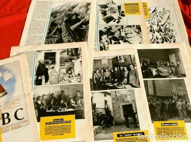 Coleccionismo Periódico La Vanguardia: CATALUÑA EN LA GUERRA CIVIL ESPAÑOLA (1986) 7 FASCICULOS nº 4, 6, 7, 13, 16, 17, 19 - LA VANGUARDIA - Foto 2 - 191391732