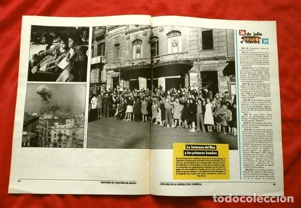 Coleccionismo Periódico La Vanguardia: CATALUÑA EN LA GUERRA CIVIL ESPAÑOLA (1986) 7 FASCICULOS nº 4, 6, 7, 13, 16, 17, 19 - LA VANGUARDIA - Foto 4 - 191391732