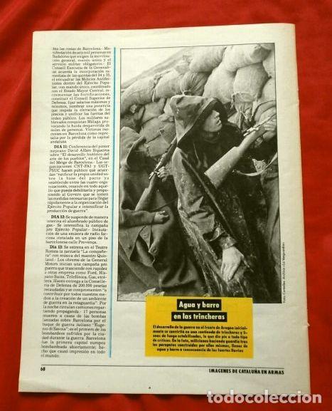 Coleccionismo Periódico La Vanguardia: CATALUÑA EN LA GUERRA CIVIL ESPAÑOLA (1986) 7 FASCICULOS nº 4, 6, 7, 13, 16, 17, 19 - LA VANGUARDIA - Foto 5 - 191391732