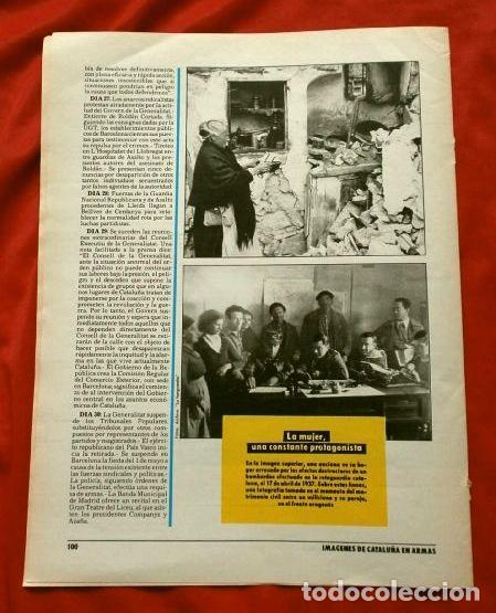 Coleccionismo Periódico La Vanguardia: CATALUÑA EN LA GUERRA CIVIL ESPAÑOLA (1986) 7 FASCICULOS nº 4, 6, 7, 13, 16, 17, 19 - LA VANGUARDIA - Foto 8 - 191391732
