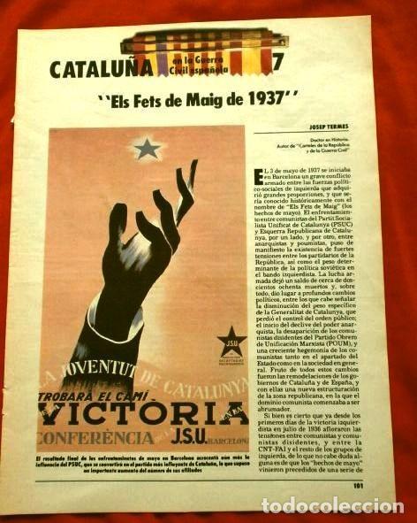 Coleccionismo Periódico La Vanguardia: CATALUÑA EN LA GUERRA CIVIL ESPAÑOLA (1986) 7 FASCICULOS nº 4, 6, 7, 13, 16, 17, 19 - LA VANGUARDIA - Foto 9 - 191391732
