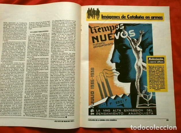 Coleccionismo Periódico La Vanguardia: CATALUÑA EN LA GUERRA CIVIL ESPAÑOLA (1986) 7 FASCICULOS nº 4, 6, 7, 13, 16, 17, 19 - LA VANGUARDIA - Foto 10 - 191391732