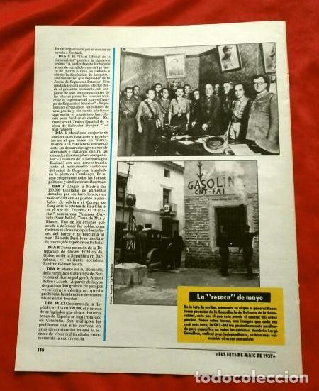 Coleccionismo Periódico La Vanguardia: CATALUÑA EN LA GUERRA CIVIL ESPAÑOLA (1986) 7 FASCICULOS nº 4, 6, 7, 13, 16, 17, 19 - LA VANGUARDIA - Foto 11 - 191391732