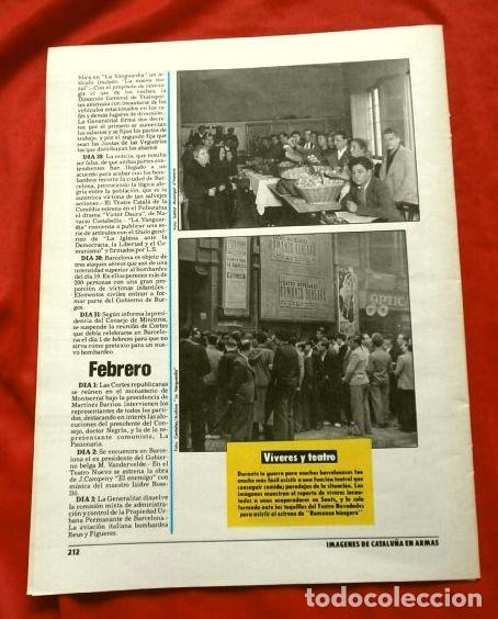 Coleccionismo Periódico La Vanguardia: CATALUÑA EN LA GUERRA CIVIL ESPAÑOLA (1986) 7 FASCICULOS nº 4, 6, 7, 13, 16, 17, 19 - LA VANGUARDIA - Foto 14 - 191391732