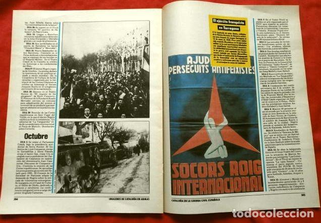 Coleccionismo Periódico La Vanguardia: CATALUÑA EN LA GUERRA CIVIL ESPAÑOLA (1986) 7 FASCICULOS nº 4, 6, 7, 13, 16, 17, 19 - LA VANGUARDIA - Foto 21 - 191391732