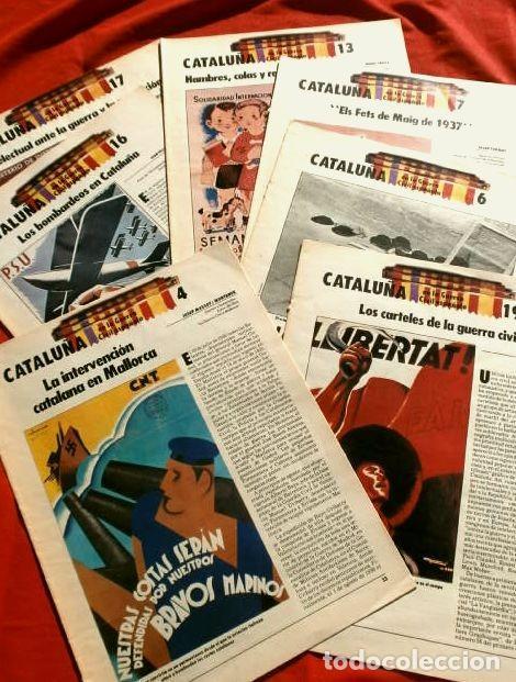 Coleccionismo Periódico La Vanguardia: CATALUÑA EN LA GUERRA CIVIL ESPAÑOLA (1986) 7 FASCICULOS nº 4, 6, 7, 13, 16, 17, 19 - LA VANGUARDIA - Foto 23 - 191391732