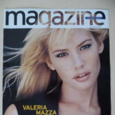 Coleccionismo Periódico La Vanguardia: RECORTE LA VANGUARDIA MAGAZINE (26-05-1996): PORTADA VALERIA MAZZA (CON CONTRAPORTADA). Lote 191431818