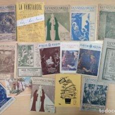 Coleccionismo Periódico La Vanguardia: 17 FELICITACIONES DE NAVIDAD, LA VANGUARDA A PARTIR DE 1940. Lote 192194855