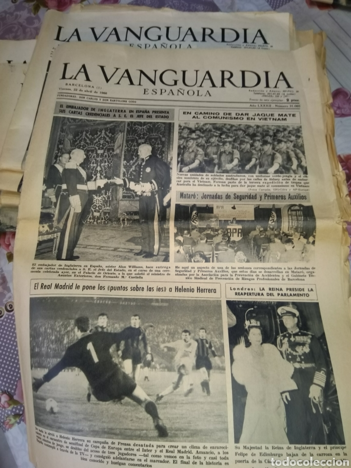 Coleccionismo Periódico La Vanguardia: La Vanguardia 1966 - Foto 6 - 192243988