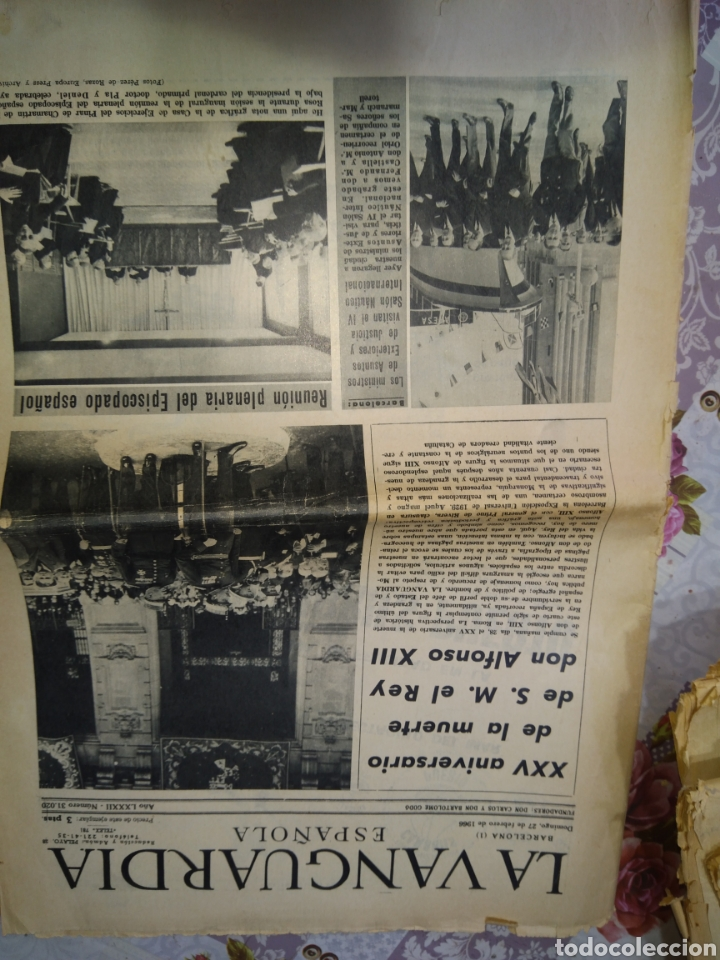 Coleccionismo Periódico La Vanguardia: La Vanguardia 1966 - Foto 12 - 192243988