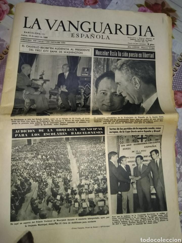 LA VANGUARDIA 1966 (Coleccionismo - Revistas y Periódicos Modernos (a partir de 1.940) - Periódico La Vanguardia)