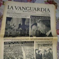 Coleccionismo Periódico La Vanguardia: LA VANGUARDIA 1966. Lote 192243988