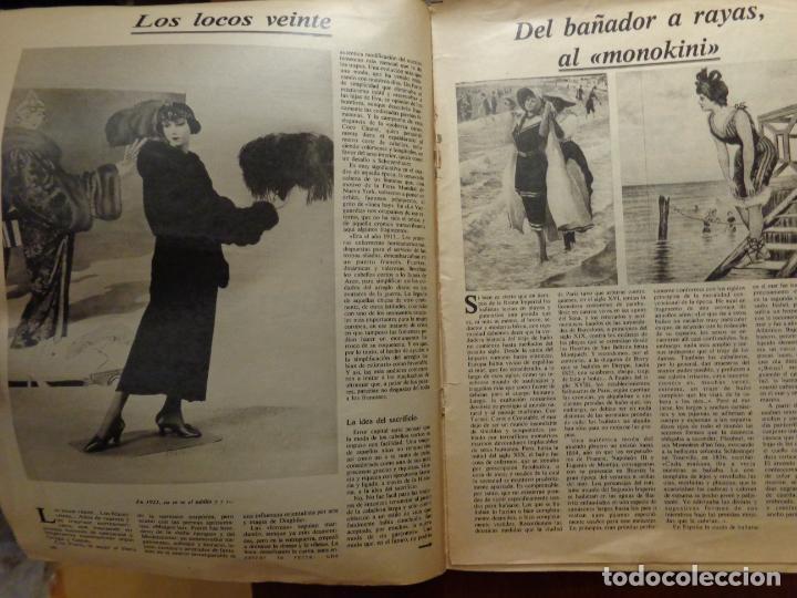 Coleccionismo Periódico La Vanguardia: CIEN AÑOS DE LA VIDA DEL MUNDO - LA MODA - FASCÍCULO 36 - LA VANGUARDIA - Foto 2 - 192264515