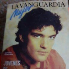 Coleccionismo Periódico La Vanguardia: REVISTA 4/1986 ANTONIO BANDERAS, MERCEDES ABAD,, TERESA GONZALEZ, MODA NIÑOS, SALUD EJERC.FISICO. Lote 193044720