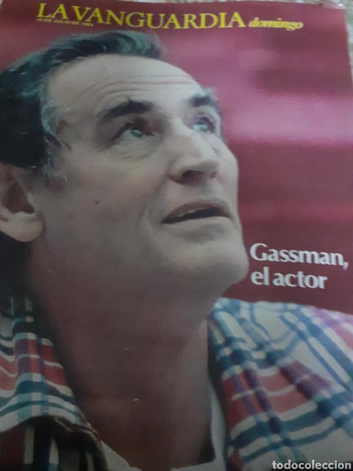 Coleccionismo Periódico La Vanguardia: Revista 7/1984 LA VANGUARDIA, GASSMAN EL ACTOR - Foto 2 - 193249035