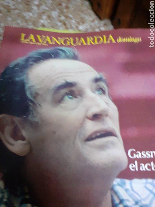 Coleccionismo Periódico La Vanguardia: Revista 7/1984 LA VANGUARDIA, GASSMAN EL ACTOR - Foto 3 - 193249035